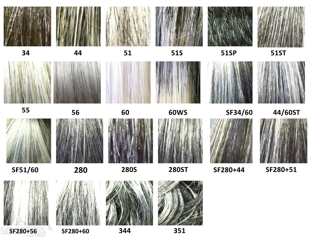 Gray Hair Color Chart Image Collections Chart Graphic