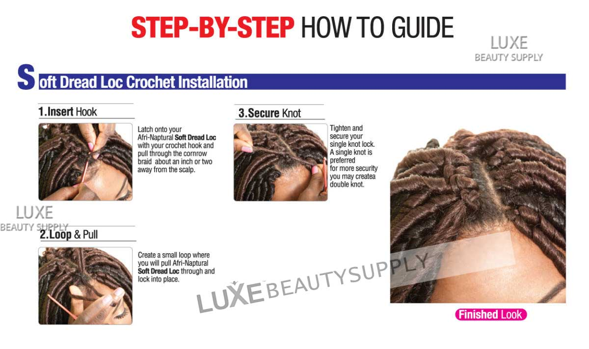 Crochet Braids Step By Step : Step by Step Installation