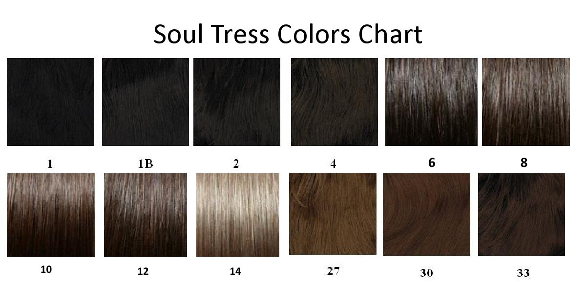 Soultress Color Chart